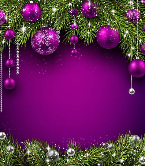 Purple Ornaments Wallpaper by Purple Decor With Background Vector Vector