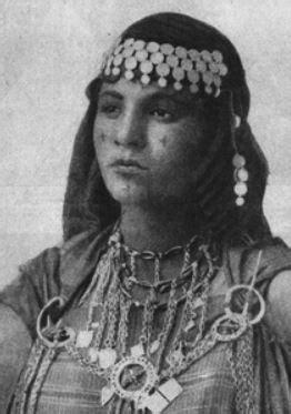 Facial Tattooing of Berber Women – by Sarah Corbett