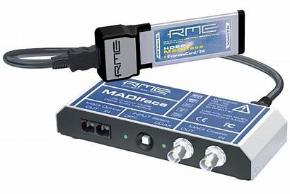 Expresscard 34 Audio Interface Laptop Channel Rme