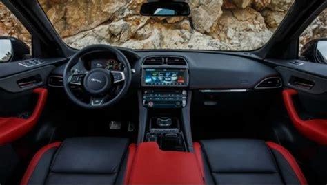 jaguar  pace interior   cars