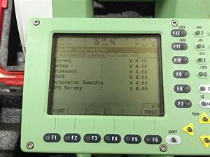 Leica Tcr1201 R300  1 U2033 Reflectorless Total Station  Reconditioned  Certified Pre