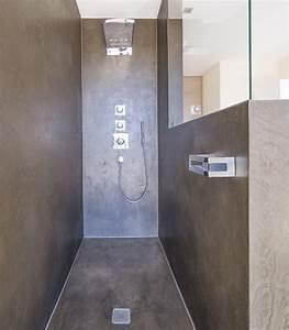 Fugenlose Wandverkleidung Bad : die fugenlose dusche trendig und chic farbefreudeleben ~ Michelbontemps.com Haus und Dekorationen