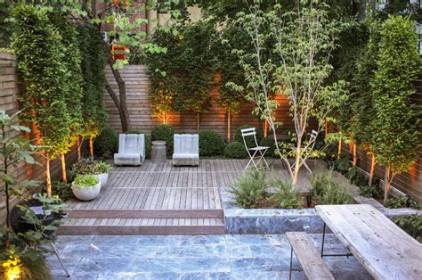 Nyc Backyard by Home Design Ideas Boerum Hill Nyc Townhouse