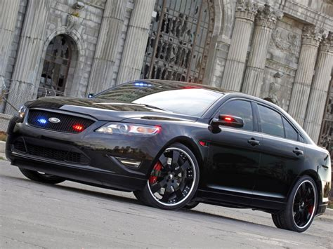 Ford Stealth Police Interceptor Concept Photos And