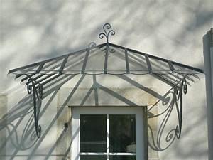 Marquise De Porte Ancienne : marquises auvent prot gez vos entr es ~ Dailycaller-alerts.com Idées de Décoration