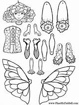 Coloring Puppet Pages Paper Puppets Brook Cut Trout Adult Template Sheets Ferne Books Colouring Printable Dolls Pheemcfaddell Fairy Crafts Doll sketch template