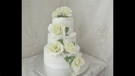 Simple Wedding Cakes Part I