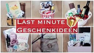 Last Minute Geburtstagsgeschenk : last minute geschenkideen 11 diy geschenkboxen f r jeden anlass youtube ~ Frokenaadalensverden.com Haus und Dekorationen
