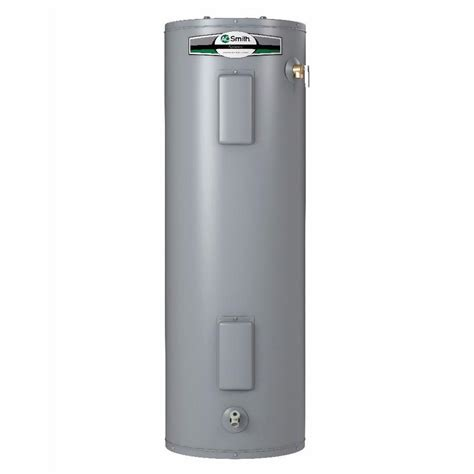 55 gallon gas water heater shop a o smith signature 55 gallon 6 year limited 7364