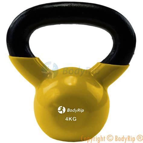 kettlebell kettle weights bell gym workout iron fitness cast exercise training bells 4kg vinyl kettlebells