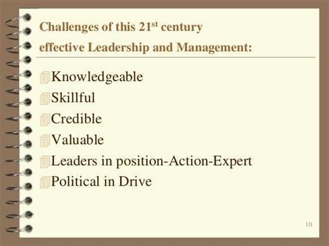 management challenges   st century kindlstone