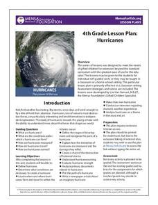 hurricanes lesson plan for 2nd 5th grade lesson planet