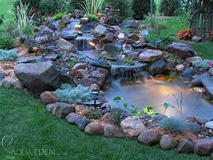 pond pictures waterfalls backyard koi pond3 With awesome fontaine de jardin moderne 2 cascade fontaine de jardin et piace deau projets modernes