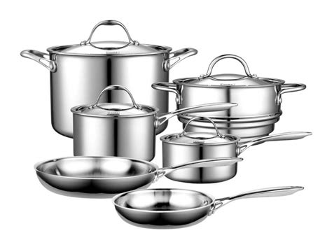 pots pans cookware value stainless steel stick non sets choose cooking nice complete kind saucepan copper right rated way
