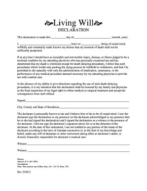last will and testament sle forms and templates