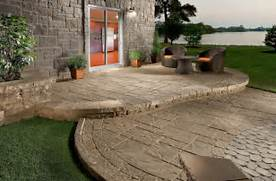 Adding Pavers To Concrete Patio Decorate Concrete Patio Designs For Warm Look Indoor And Outdoor Design Ideas