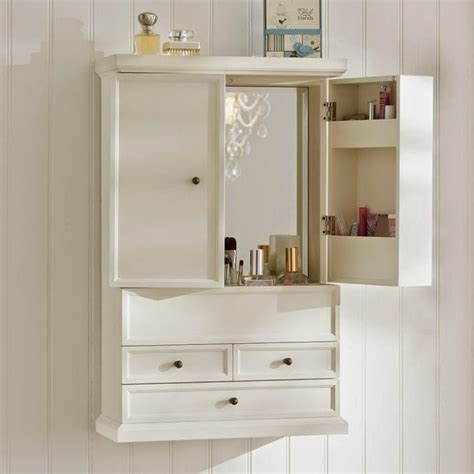 bathroom wall cabinet  drawers home furniture design