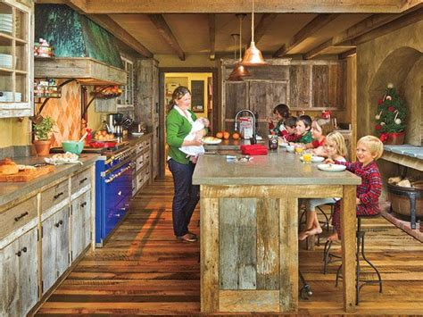 rustic cottage kitchens rustic cabin kitchen this family kitchen in 2044