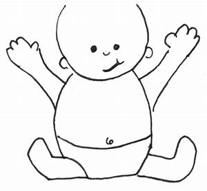 How to Draw Cartoon Baby with Easy Drawing Lesson for Kids ...