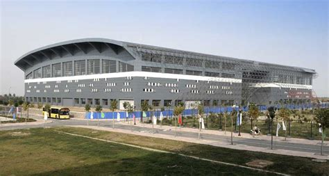 shandong university  sports china building  architect