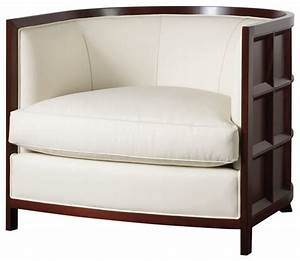 Bevel Lounge Chair - Baker Furniture - Modern