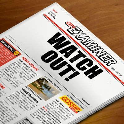 newspaper headline imagechef