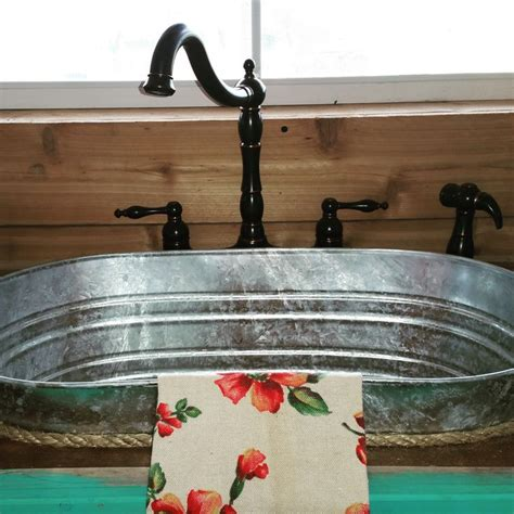 galvanized wash tub sink meer dan 1000 afbeeldingen over i really like this op