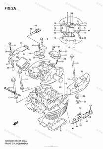 Suzuki Motorcycle 2009 Oem Parts Diagram For Front