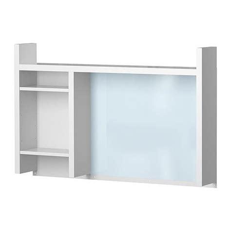 bureau haut ikea micke élément complémentaire haut blanc ikea