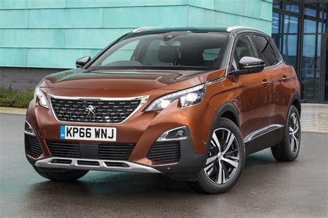 Car Usa News : Peugeot 3008 2017 Pricing And Specs Confirmed