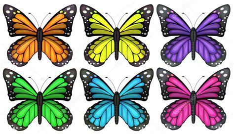 farfalle clipart farfalle colorate vettoriali stock 169 blueringmedia 53346161