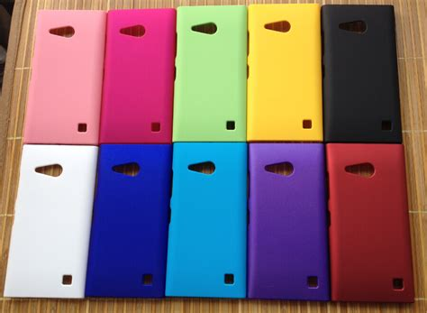 back cover lumia 730 735 plastic cell phone cases shell matte back cover