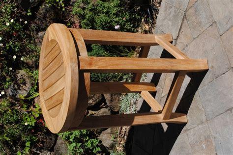 counter height teak stool