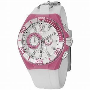 Technomarine Cruise Locker Charm Unisex White Dial Watch