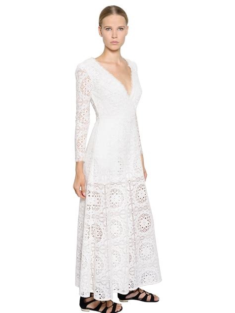 lace jumpsuit white temperley wide leg embroidered lace jumpsuit in