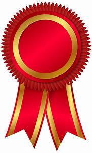 Edit and free download Award Rosette PNG Clipar Image