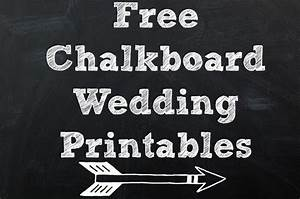 wedding printable images gallery category page 1 With chalkboard wedding sign template