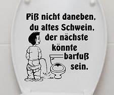Wandtattoo Wc Sprüche : aufkleber wc deckel toiletten tattoo klo sticker bad wandtattoo spruch 3c003 coole spr che ~ Markanthonyermac.com Haus und Dekorationen