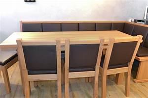 Eckbank Modern Holz : eckbank massiv modern ~ Indierocktalk.com Haus und Dekorationen