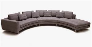 Curved sofa sectional modern trendy round sofas uk for Curved sectional sofa dimensions