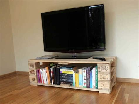 diy rak tv  kayu  desainnya kece  bisa