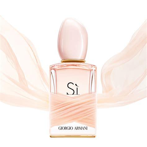 si eau de toilette giorgio armani perfume a new fragrance for 2015