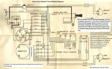 31 Ford Wiring Diagram by Model T Ford Forum Anyone Detailed Colored Wiring