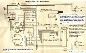 Model T Ford Forum  Anyone Have Detailed  Colored Wiring Diagrams