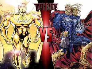 Image - Superman Prime One Million vs Rune King Thor.jpg ...