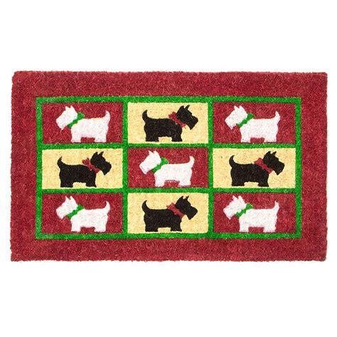 Doormat Designs by Doormat Designs Scotty Dogs Doormat S Of Kensington