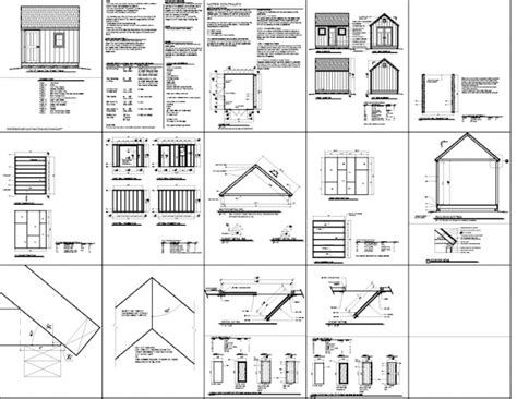 Free 10x12 Shed Plans by Storage Shed Plans 10 215 12 Free Learn How To Build A Shed