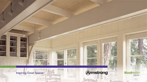 armstrong woodhaven whitewashed ceiling planks woodhaven woodhaven collection wood wood tone 5 quot x 84