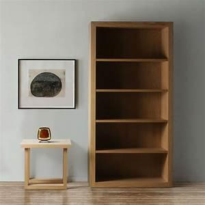 Bibliothque Design En Bois Brin D39Ouest