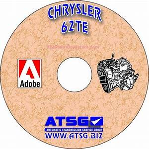Dodge    Chrysler 62te Transmission Rebuild Manual On Cd